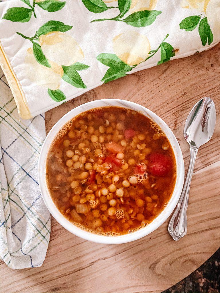 Lentil Soup (Gluten Free and Vegan)