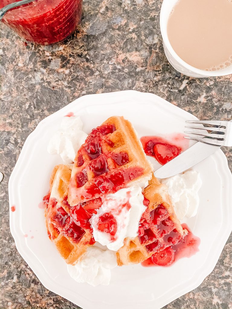 Frozen Fruit Compote for Waffles