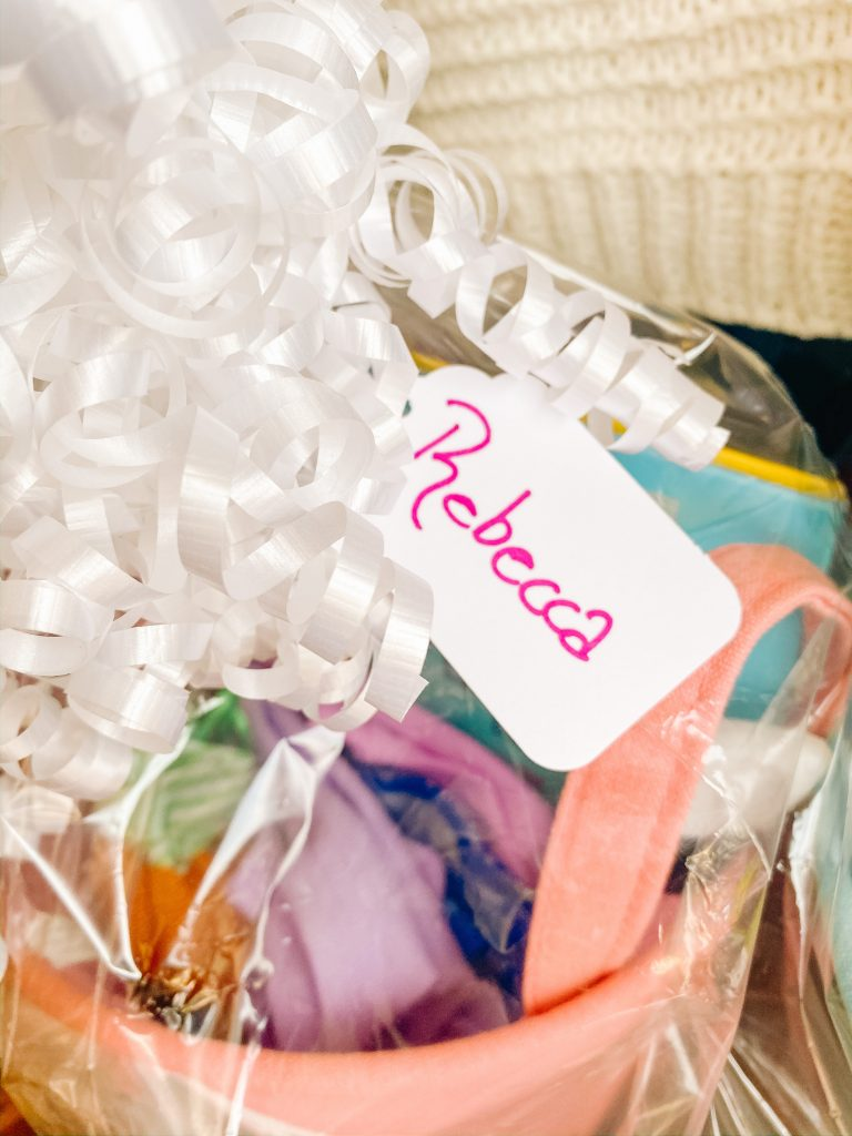 Making Easter Baskets - Name Tags (Easter Baskets for Kids)