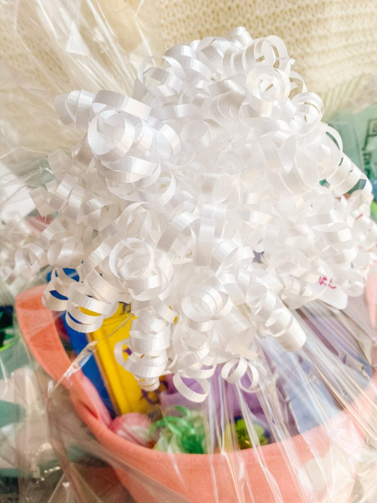 Making Easter Baskets - Ribbons and Bows (Easter Baskets for Kids)
