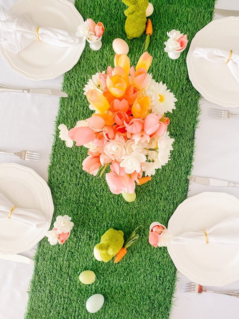 Overview of Easter Table