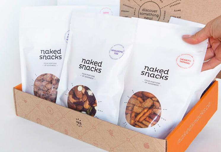 Naked Snacks - Snack Box