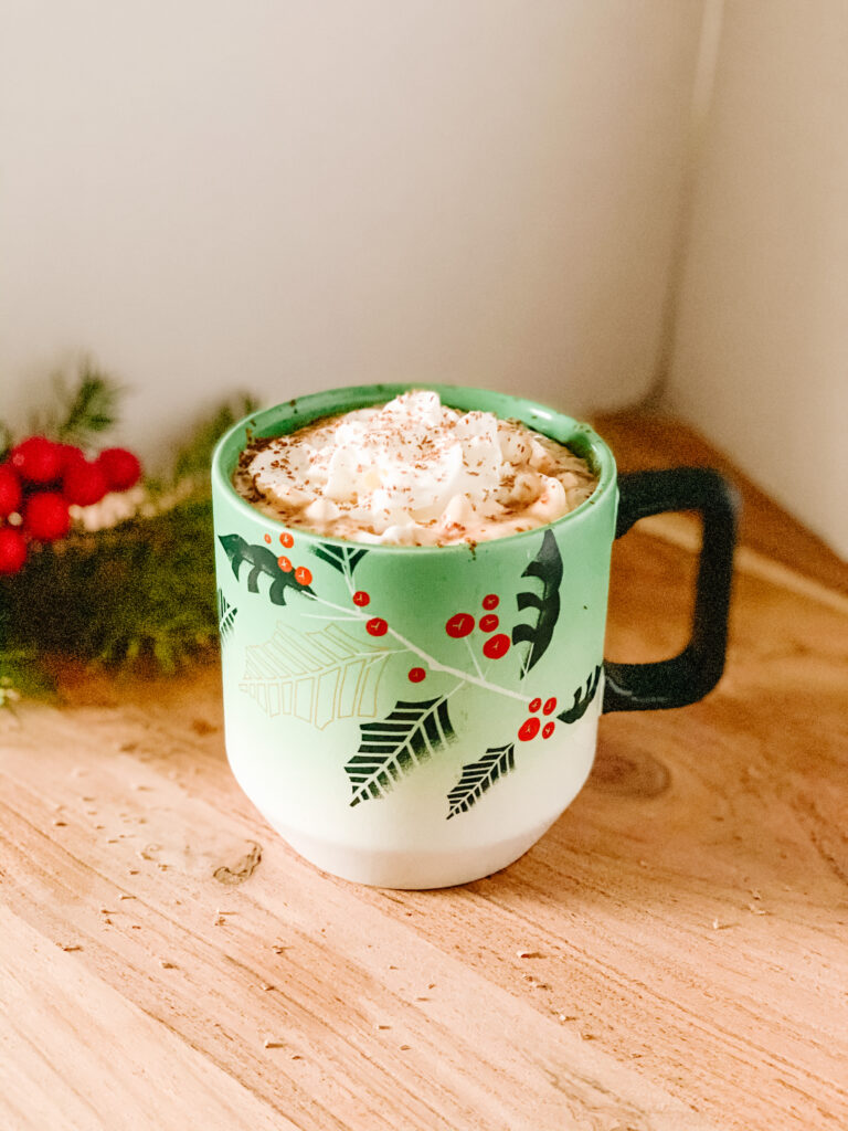 Homemade Hot Chocolate Sideview