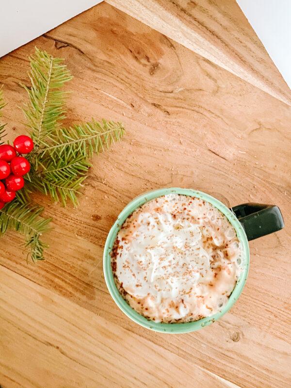 Homemade Hot Chocolate Topview