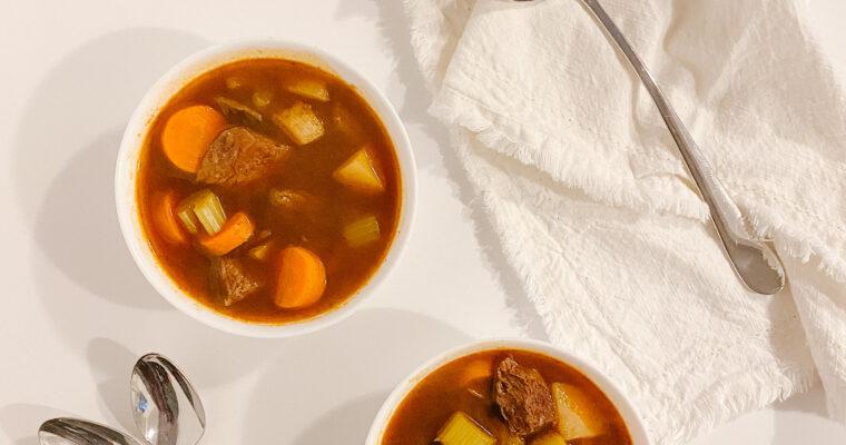 Tender and Juicy Beef Stew