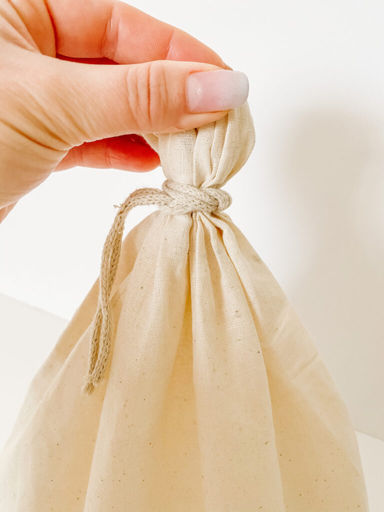 How to Tie Cotton Bag