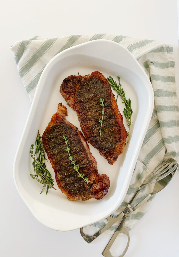 Cooked and Rested Steak